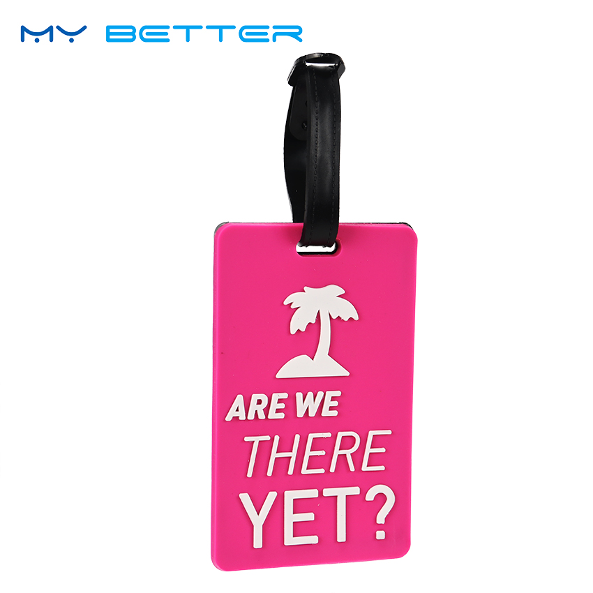 New Suitcase Luggage Tags Identifier Label ID Address Holder Environmental Protection Cover Luggage Tag Travel Accessories in Travel Accessories from Luggage Bags
