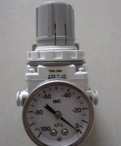 SMC vacuum regulator  WITH GAUGE IRV20-C08BG Direct insertion of 8mm outer diameter tube scv 20 rc1 4 vacuum ejector smc type vacuum generator