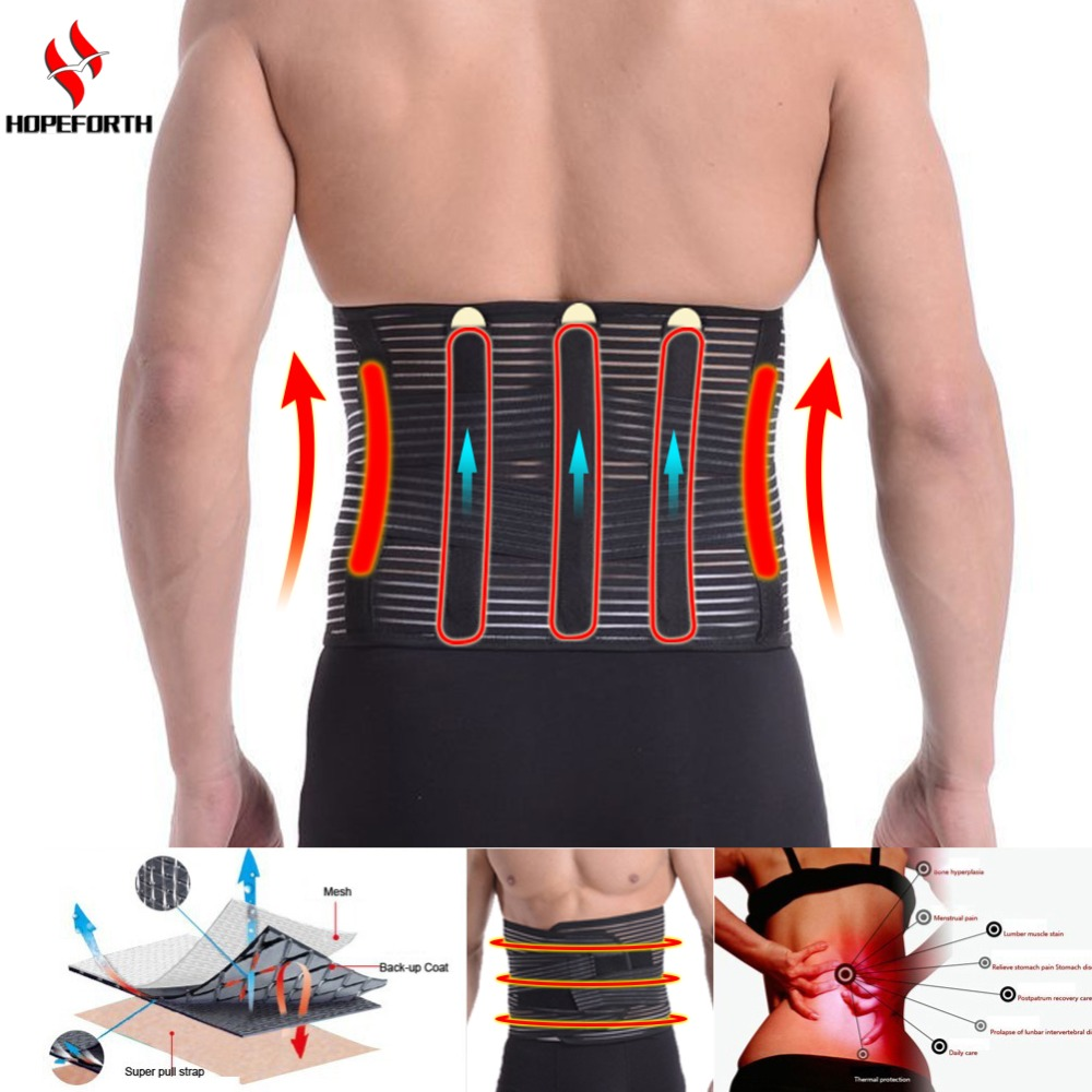 Lumbar Brace Support Belt Breathable Bandage Protection Back Waist Support Belt Health Care High Elastic