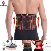 Lumbar Brace Support Belt Breathable Bandage Protection Back Waist Support Belt Health Care High Elastic