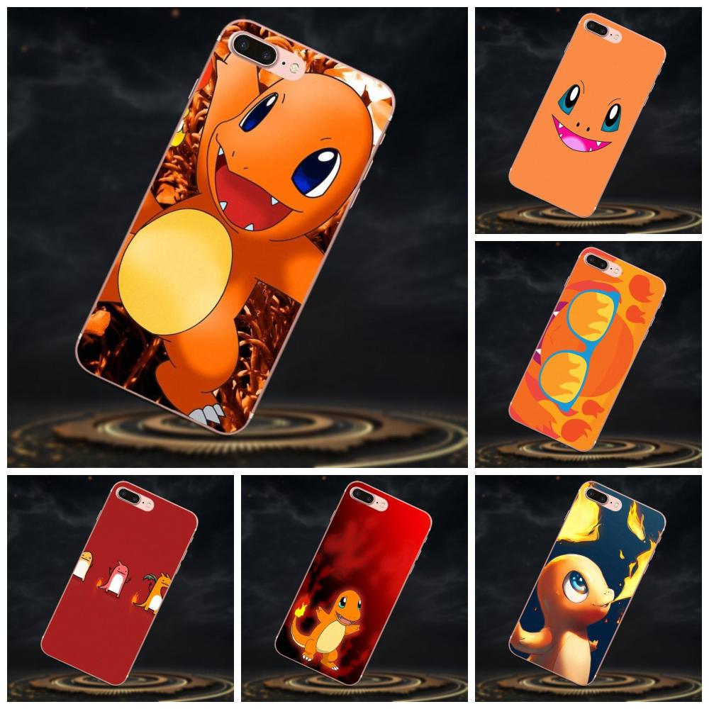 For Galaxy J1 J2 J3 J330 J4 J5 J6 J7 J730 J8 2015 2016 2017 2018 mini Pro Soft Best Cases Pokemons Charmander image