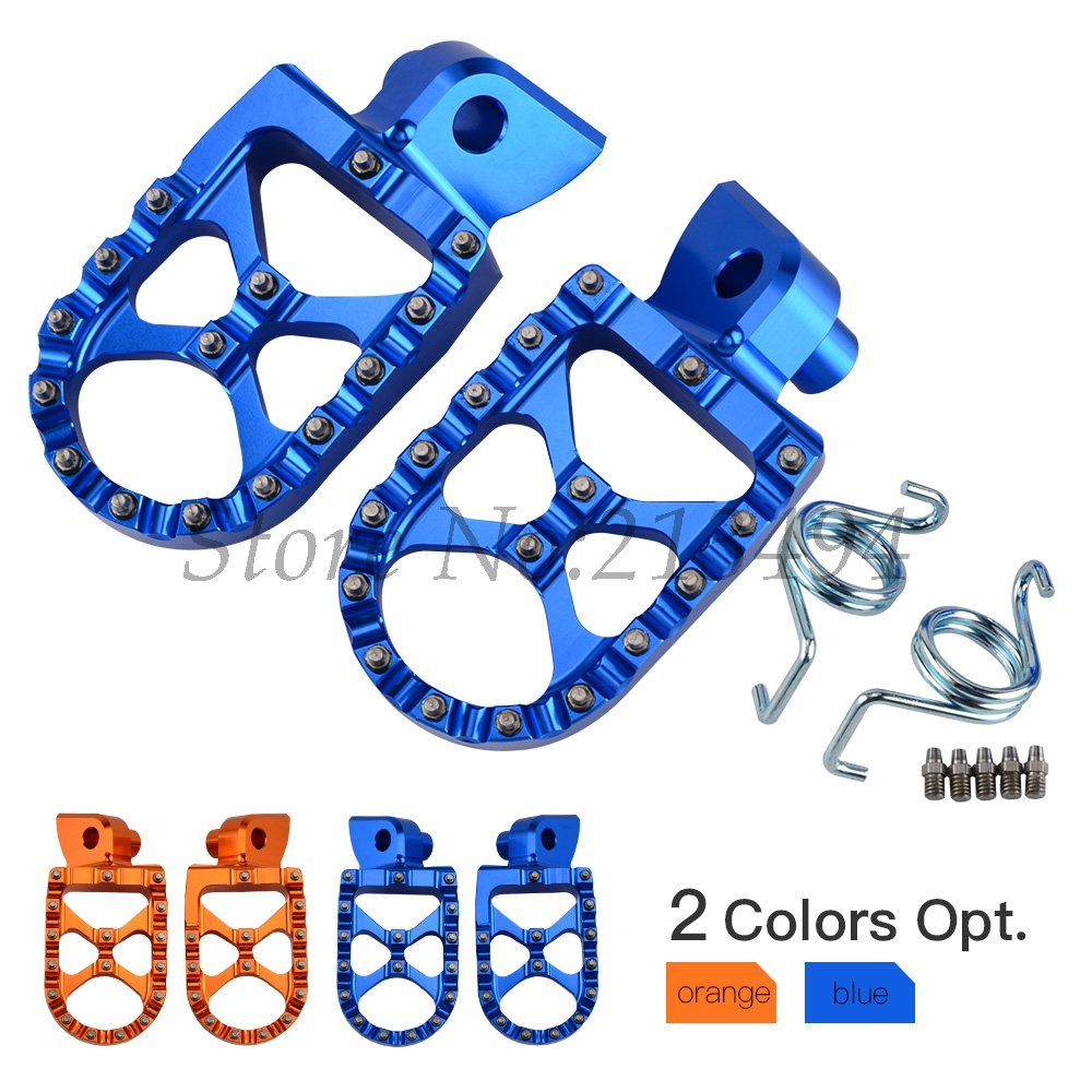 NICECNC RACING FOOT PEGS FOOTRESTS For Husqvarna TC TE FC FE TX FS 65 85 125 250 300 350 390 450 501 Husaberg FE650 FE FS 570 звездочка для мотоциклов jfg racing 14t 250 300 450 ec atv motorcycle1590