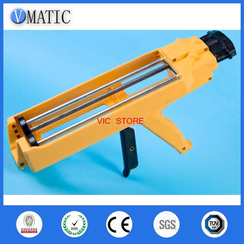 цена на Aliexpress Fastselling Quality 600ml 1:1 1:2 AB Glue Gun Manually AB Glue Cartridge Gun Caulking Gun 600ml