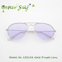 Better Self LS3138 Men Sunshades Pilot Eyeglasses Eyewear Outdoor Spectacles Colorful Optical Frames Sunglasses Women