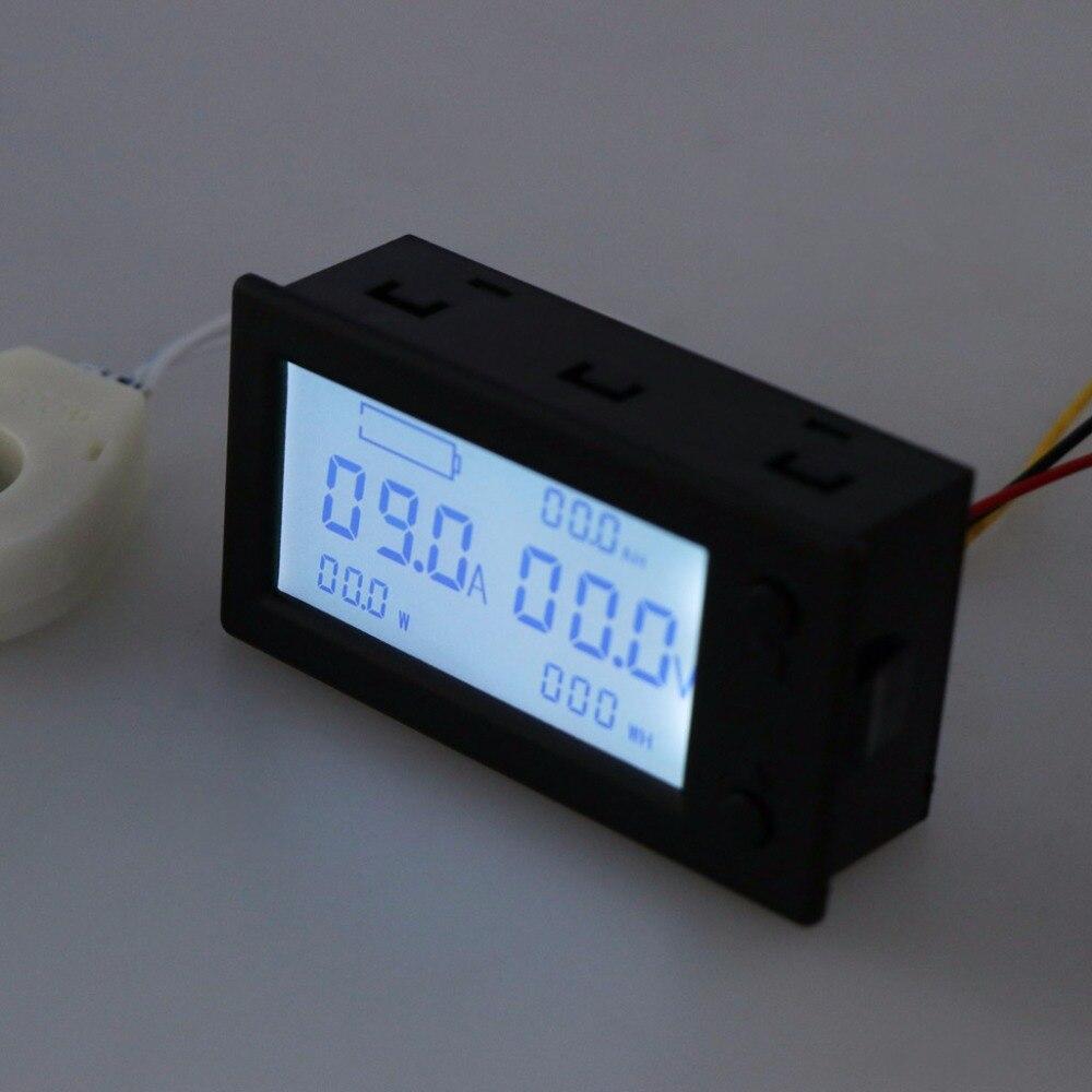 DC300V 100A 200A 400A Hall Effect Coulometer Digital Voltmeter Ammeter Sensor-831F
