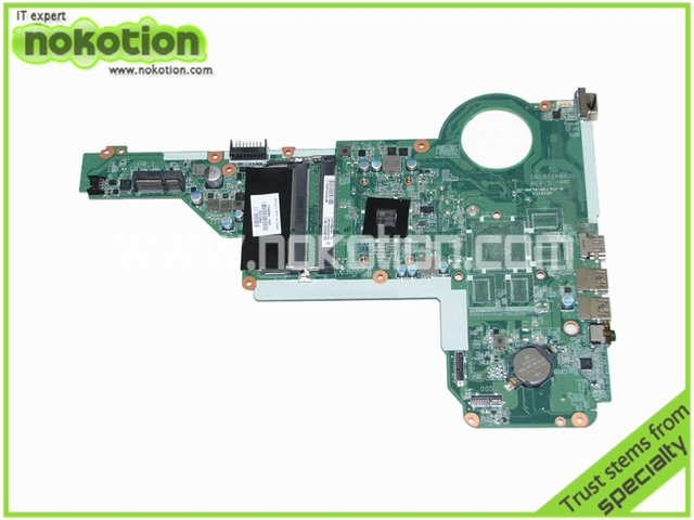 734004-501 placa madre del ordenador portátil para hp pavilion 15 15-e da0r76mb6d0 am5000 amd cpu a bordo ddr3 placa base