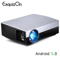 LED Projector F20/F20up(Optional Android Projector Support 4K,AC3) 3800Lumens 1280*800 Resolution,HIFI Speaker,beamer Video Home