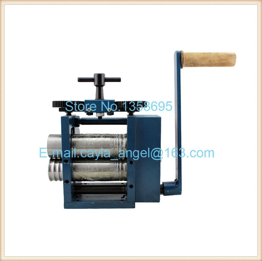 Sertissage et Presse à Comprimés Machine Bijoux Mini Laminoir Outil et Équipements Sous Pression Main Laminoir Machine
