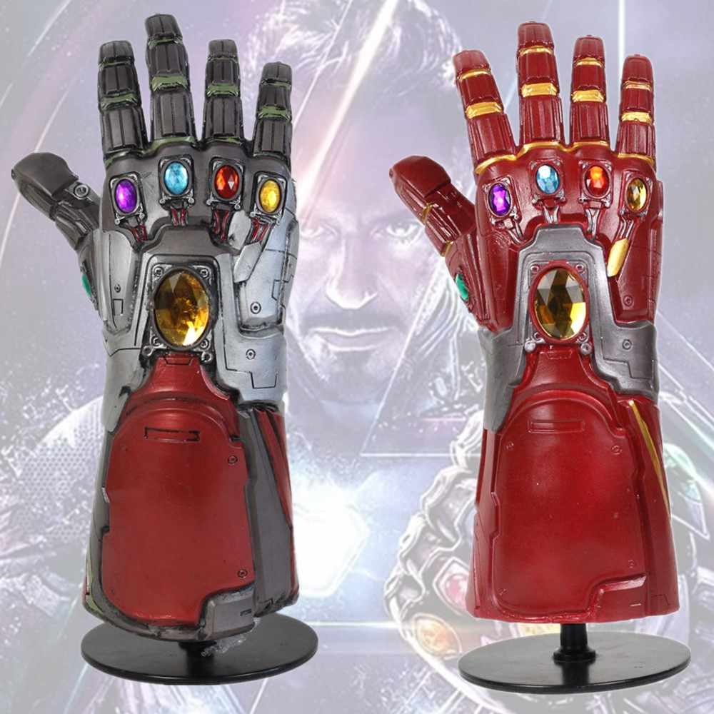 Endgame Iron Man Infinity Gauntlet Cosplay Tony Stark Thanos Infinity Pietra Cosplay Guanti In Lattice Mano Gauntlet Cosplay