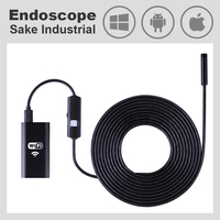 720P WiFi Endoscope Android iOS PC Waterproof Snake Industrial Wireless Car USB Endoscope Camera Video Borescope