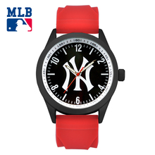 MLB NY collection vogue sport lover' watch large face waterproof wristwatch silicone band  quartz  for women and men watches SD011