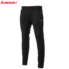 Бренд Kawasaki, мужские спортивные штаны, тренировочные штаны для бадминтона, быстросохнущие, для фитнеса, дышащие, для бега, тенниса, спортивная одежда, SP-S1501