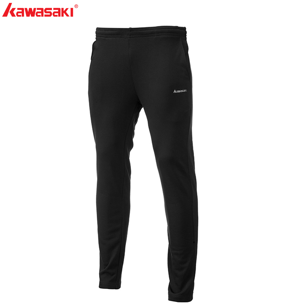 Brand Kawasaki Men's Sports Pants Badminton Training Pant Quick Dry Fitness Breathable Running Tennis Cloth Sportswear SP-S1501