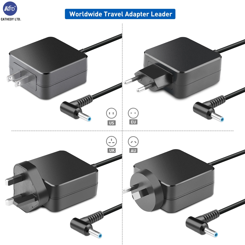 KFD 19.5V 2.31A CE Certified 45W laptop AC Adapter for HP Spectre 13-4003dx x360 13-h000 x2 13-h200 x2 13-h281nr x2 AC DC PSU