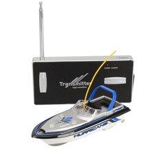 Новая Мода Радио Пульт Дистанционного Управления Супер Мини Скорость Лодки Двойной Мотор Kid Игрушка 218 Игрушки Оптом