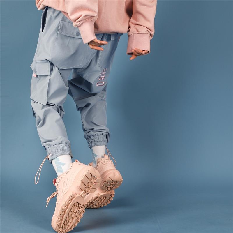 2019 Pantalones Mujer Hip Hop Pantalon Femme Pants Women Streetwear Harem Pants Korean Style Ladies Cargo Pants Casual Joggers