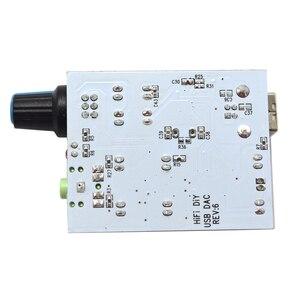 Image 5 - Lusya CM108 + TDA1305T + TDA1308 الصوت بطاقة IIS/I2S إلى 3.5 مللي متر الناتج USB أمبير USB DAC فك a1 009