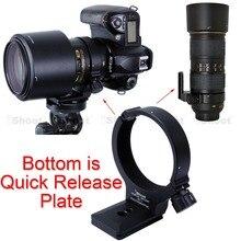 เลนส์ขาตั้งกล้องเมาแหวนRT-1กล้องสนับสนุนผู้ถือปกที่มีA Rcaพอดีที่วางจำหน่ายจานด่วนสำหรับกล้องNikon AF-S 300มิลลิเมตรF/4E PF ED VR