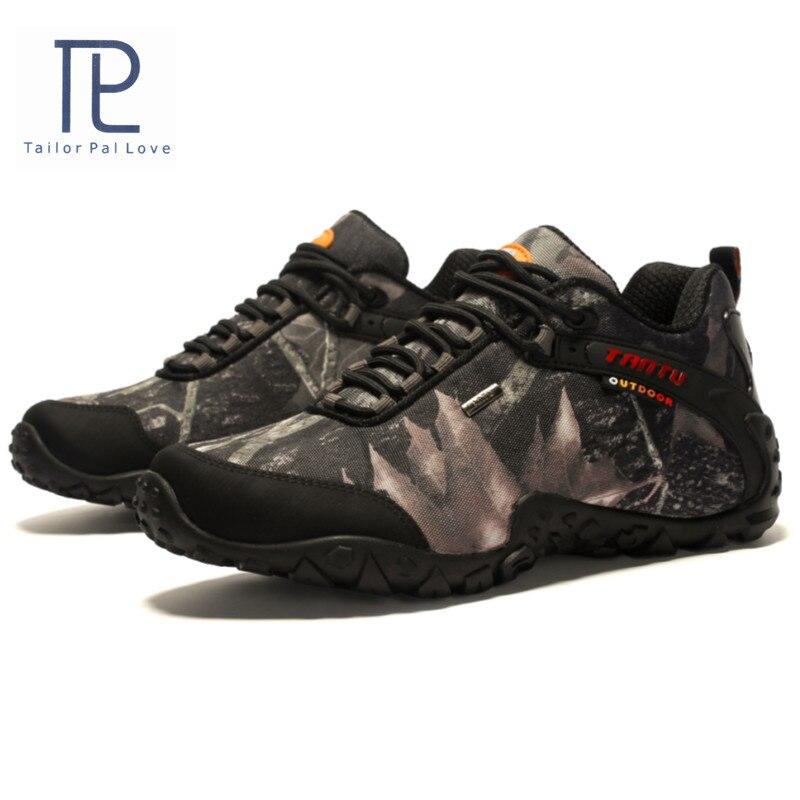 Haute qualité chaussures de plein air hommes baskets 40-46 étanche respirant antichoc antidérapant chaussures décontractées pour hommes chaussures