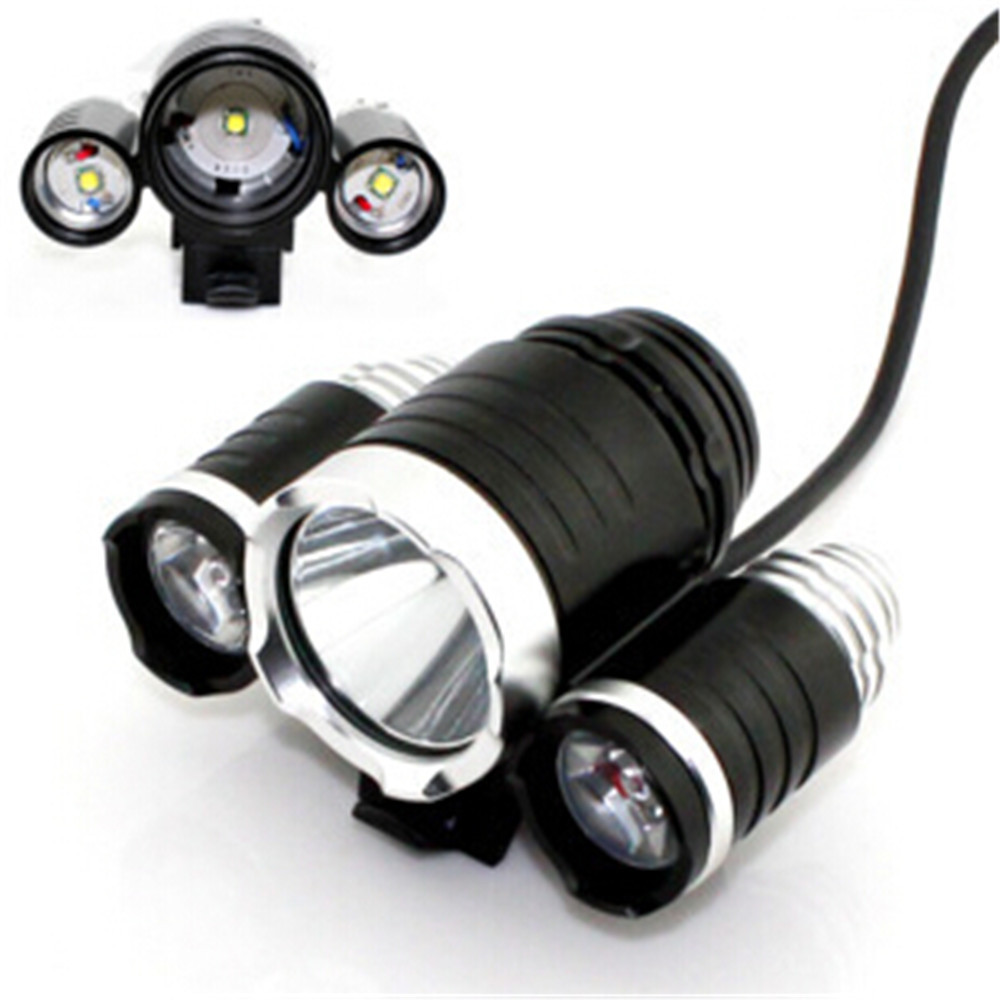 Cycling Head Lights Fishing Lamp Led Bicycle Frong Light Luces Bici ...