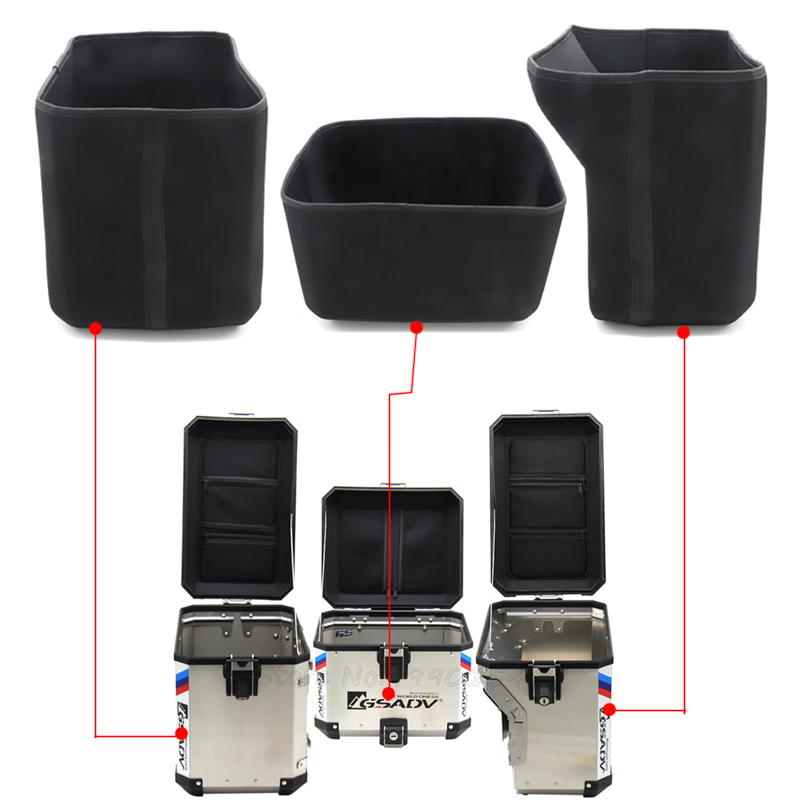 for BMW R1200GS R1250GS R1200 GS 1250 LC ADV Rear Luggage Box Container Inner Tail Case