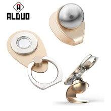 Alangduo палец кольцо сцепление Магнитная автомобильный телефон стенд для Xiaomi Магнитный 2 в 1 автомобильный держатель мобильного телефона кронштейн для iphone 8 6 6 S