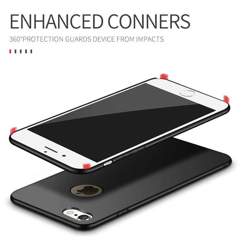 27b050ae5c ... MSVII Cover For iPhone 6S Plus Case Luxury Matte Coque For Apple iPhone  6 Plus Case ...