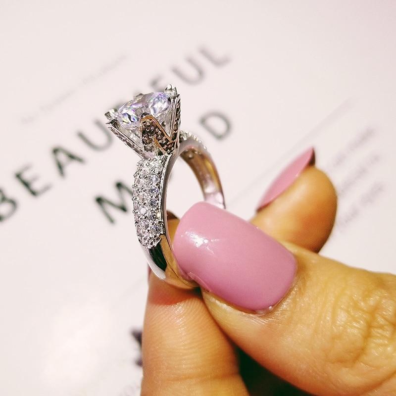 Αρχική 925 Sterling Silver Δαχτυλίδι - Κοσμήματα μόδας - Φωτογραφία 3