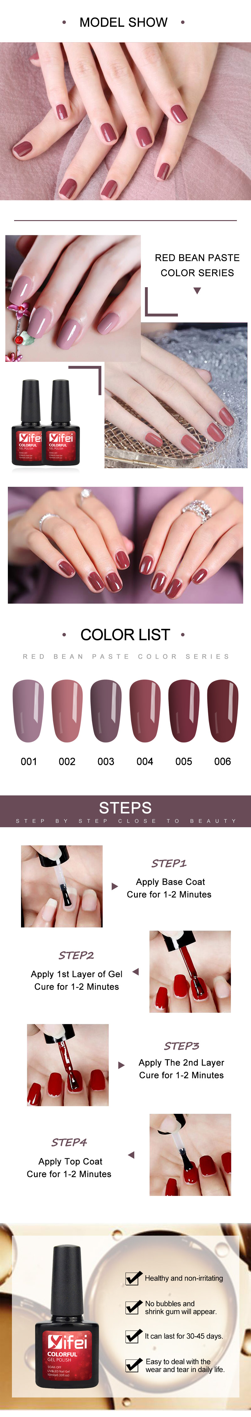 Detail Feedback Questions about YIFEI 10ML Gel 3D Nail Design Red ... ce0adfb243ed