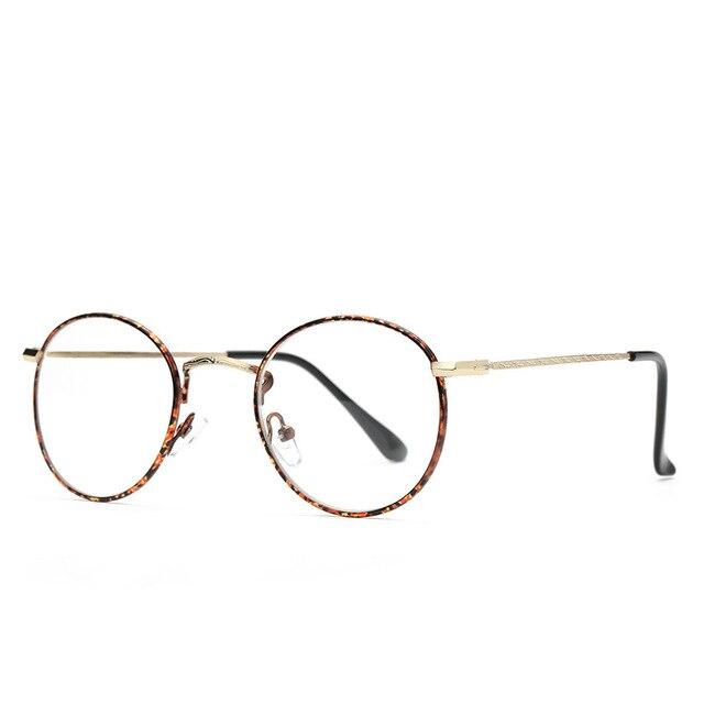 Vazrobe Colorful Glasses Frame Women Men Round Eyeglasses Spectacles ...