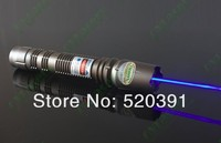 New 10000mw 445nm 450nm Focusable Burning Blue Laser Pointers KIT With Metal Case FREE SHIPPING