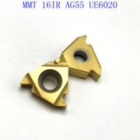 vp15tf ue6020 20PCS MMT 16IR AG55 VP15TF / UE6020 / אשכול US735 קרביד הכנס הפיכת כלי חיתוך כלי מחרטה כלי כרסום CNC קאטר כלי (2)
