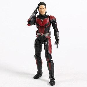 Image 5 - SHF Avengers 4 Endgame Ant Man nieskończoność wojna Antman Model postaci zabawka dla dzieci