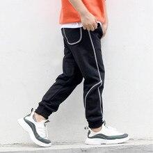 AJLONGER Autumn Winter Korean Baby Boys Casual Pants Cotton Long Trousers Kids Clothing Elastic Waist Jogger Pant