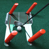 Golf Alignment Training Aid Swing Practice Trainer Speed Trap Base 4 Speed Golf Accessories