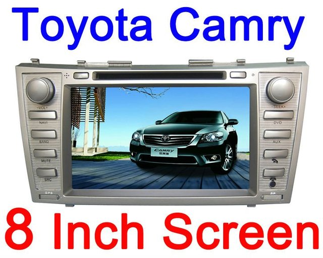 NEW!!! car dvd For Toyota Camry 2008-2011 HD screen GPS Free Map +Free Shipping & Gift