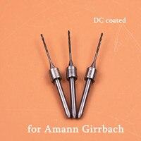 DC Coated Dental Milling Burs for Amann Girrbach 0.6/1.0/2.5mm Diamond Coated Milling Burs for Amann Girrbach CAD CAM Machine