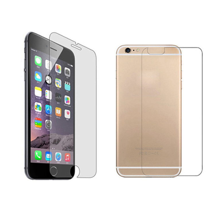 timeless design 8e355 bd770 US $3.65 |Ascromy Front Back Tempered Glass for Pelicula iPhone 6 6s 7 8 X  5 5S SE Screen Protector Glass Protective Film Screenprotector-in Phone ...