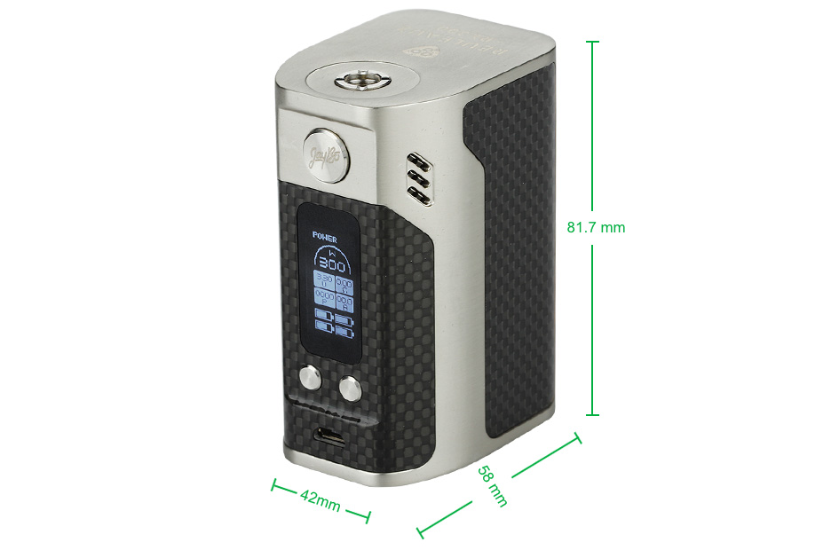 WISMEC Reuleaux RX300 TC Express Kit WO Battery 1