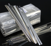 0 15mm X 4mm X 100mm 100pcs Pure Nickel Plate Strap Strip Sheets 99 96 For