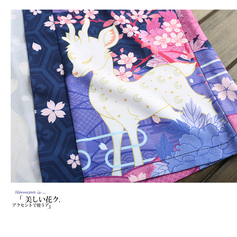 Yukata Kimono Mujer Cardigan Women Japanese Kimono Femme T Stylish Blouses 2019 Beach Kimono Femme Long Cosplay Anime Plus Size in Blouses amp Shirts from Women 39 s Clothing