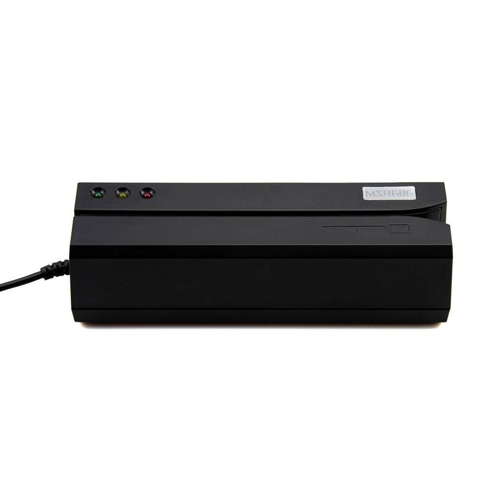 MSR605 à piste magnétique lecteur de carte écrivain codeur usb US plug logiciel compatible avec MSR606 msrx6 msrx6bt - 3