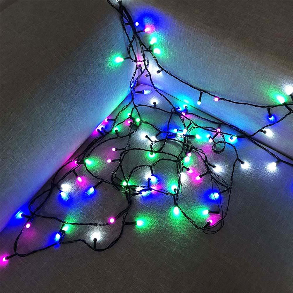 Kaigelin Waterproof 9M 100LED String Light Warm White/Colorful Bottle LED Fairy Lights Decor Home Outdoor Christmas Chain Lamps