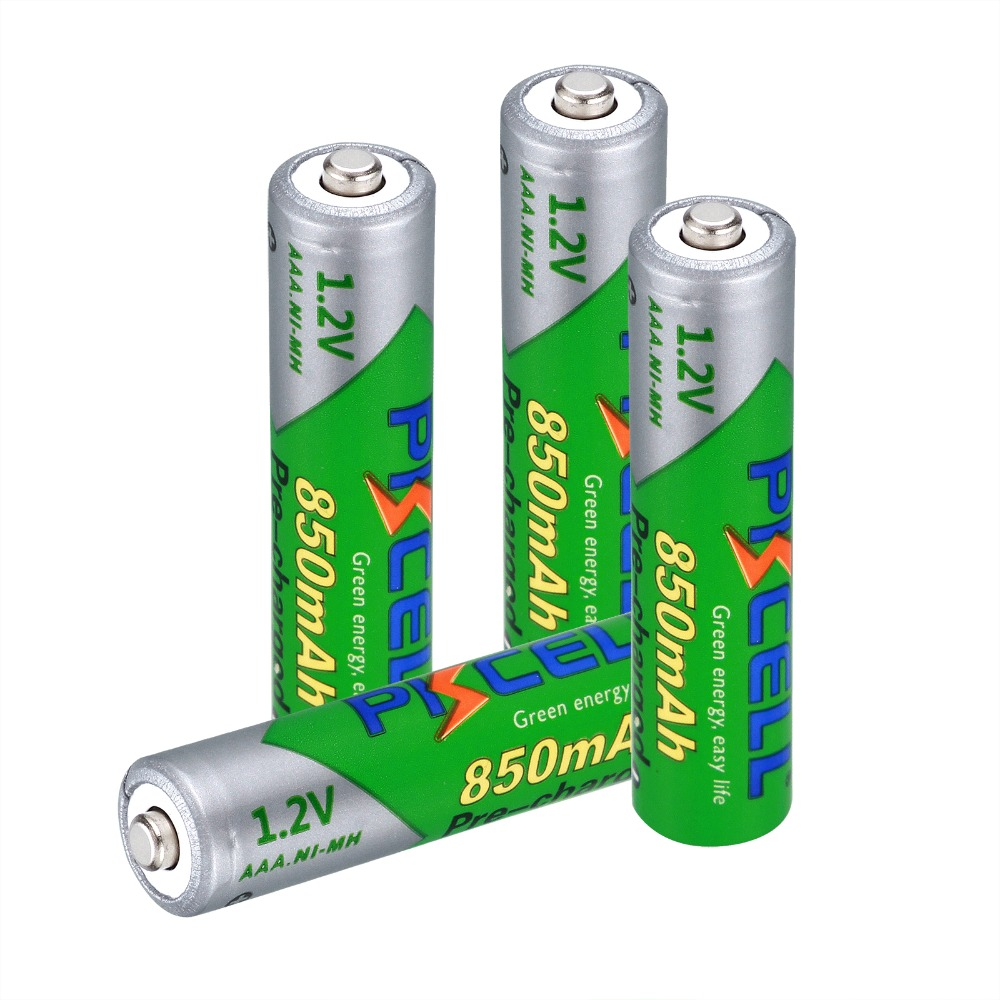 4pcs/lot Original AAA 1.2V 850mAh 3A rechargeable battery AAA Ni-MH battery Low Self-Discharge aaa Rechargeable Batteries ...