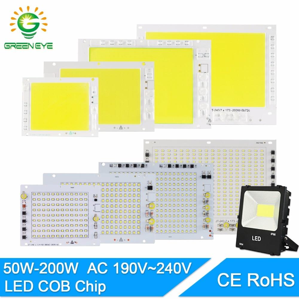 Led Lamp 2835 SMD 220V Led 100W 150W 200W Led Cob Chip Smart IC Driver High Lumens DIY For Outdoor Floodlight Spotlight