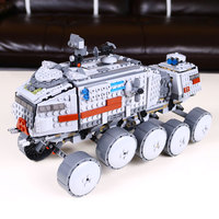 933Pcs Star Wars Clone Turbo Tank 75151 Building Blocks Compatible With Lego 75151 STAR WARS Toy