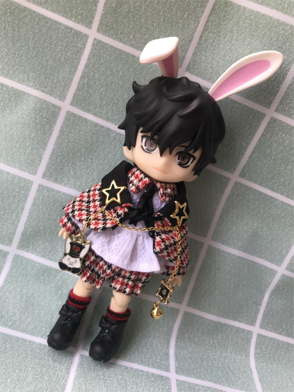 2019 kawaii lapin vêtements ensemble pour Obitsu11 OB11 1/12 poupée OB11 poupée cgc molly disponible pour cu-poche OB11 accessoires poupée
