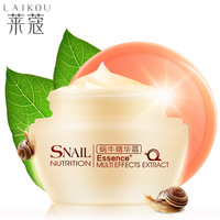 Promotion Snail Nutrition Essence 50g Multi Effects Extract Cream Moisturizing Whitening Moisturizer A1552
