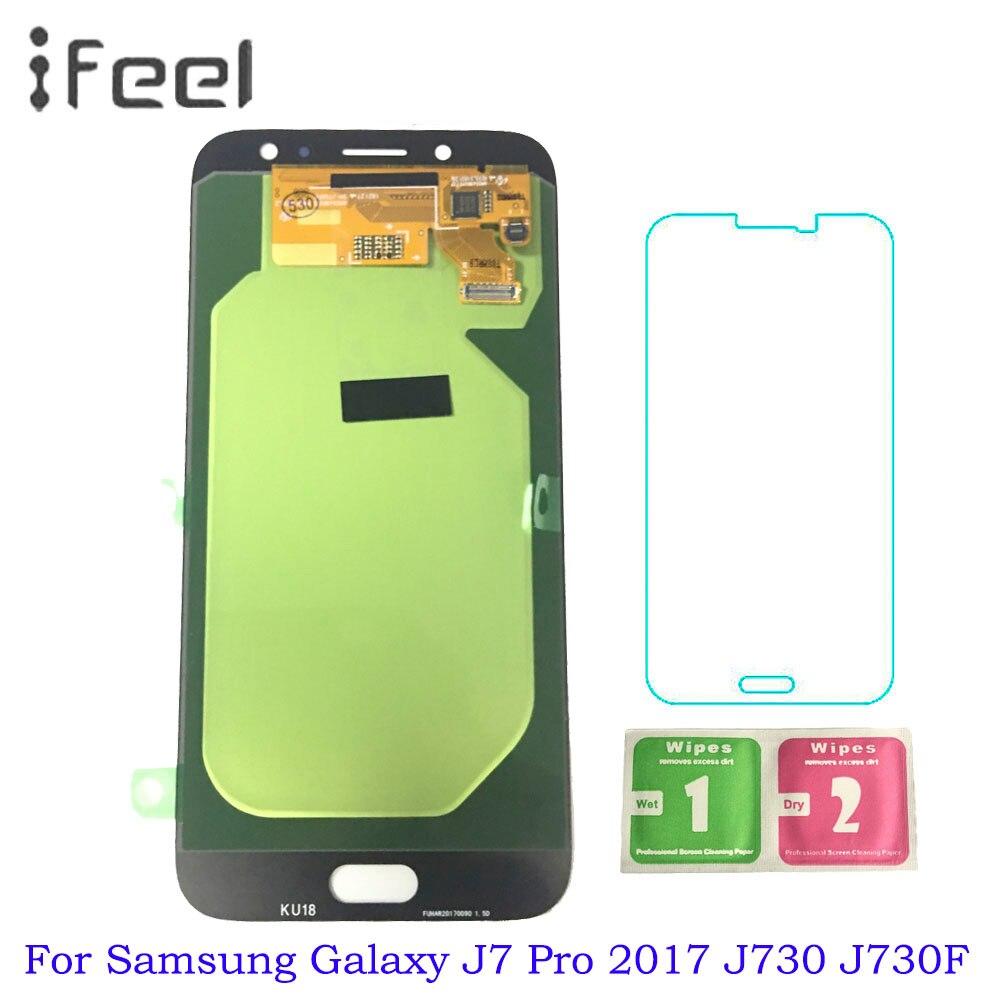 Affichage pour SAMSUNG Galaxy J7 Pro J730 2017 SM-J730F LCD écran tactile assemblée remplacement pour Samsung J730 LCD