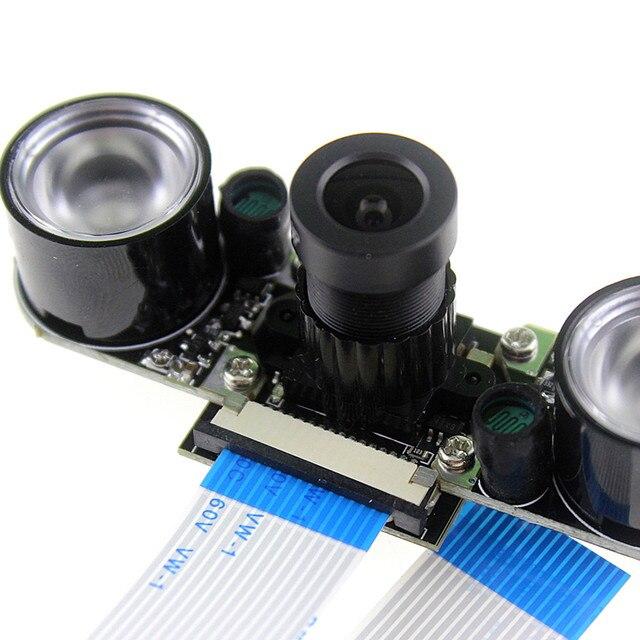 Raspberry Pi 2 3 Camera Module 5MP OV5647 Night Vision Camera + 2pcs Sensitive Infrared Light